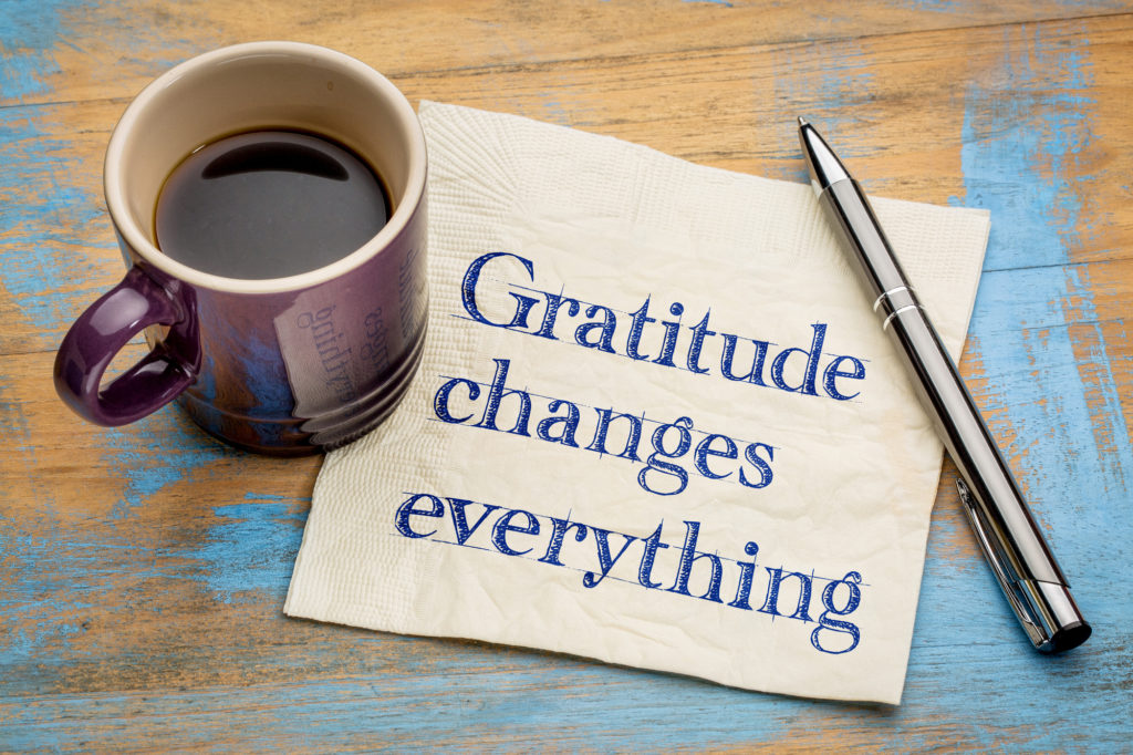 Gratitude: An Antidote to COVID-19 Stress!